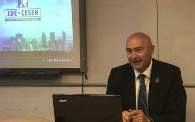 José María Torres dio una conferencia en el IDE-CESEM de Madrid