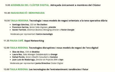 Día del Clúster Digital: la incidencia de las nuevas tecnologías en el día a día