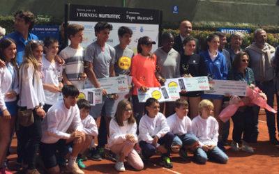 Dami Edibson y Carlos Alcaraz, ganadores del I Torneo Numintec-II Memorial Pepe Mascaró